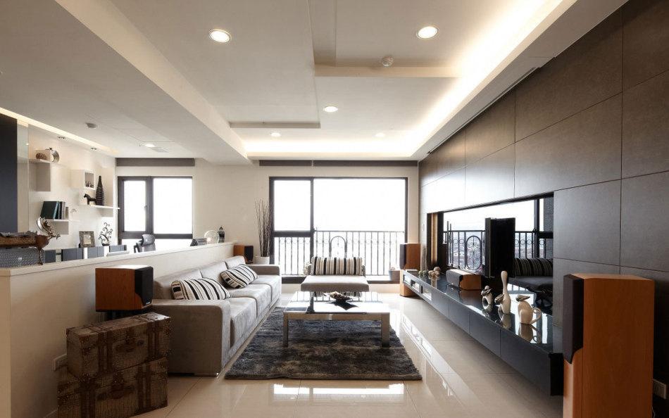 标准户型设计欧式新建房现代风格装修