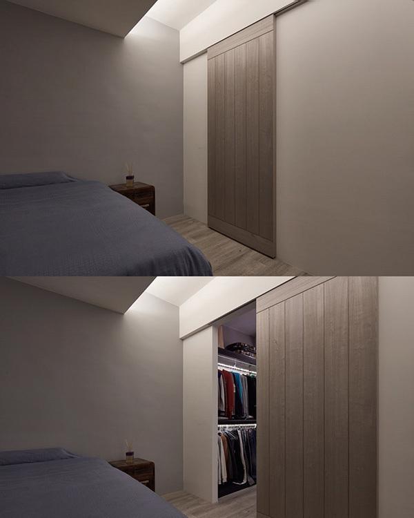 工业风格弹性隔间装修图片
