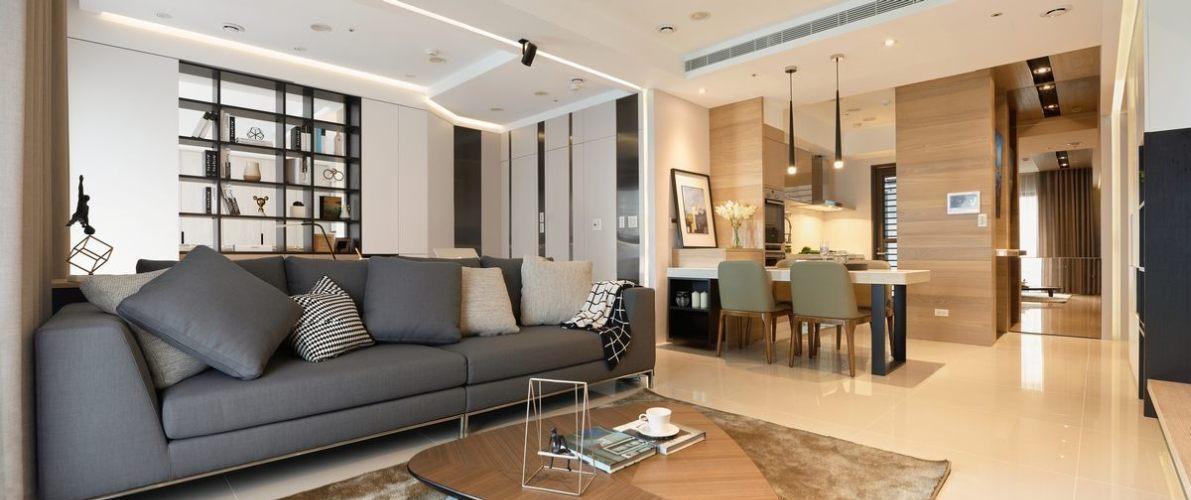 现代休闲空间放大装修案例