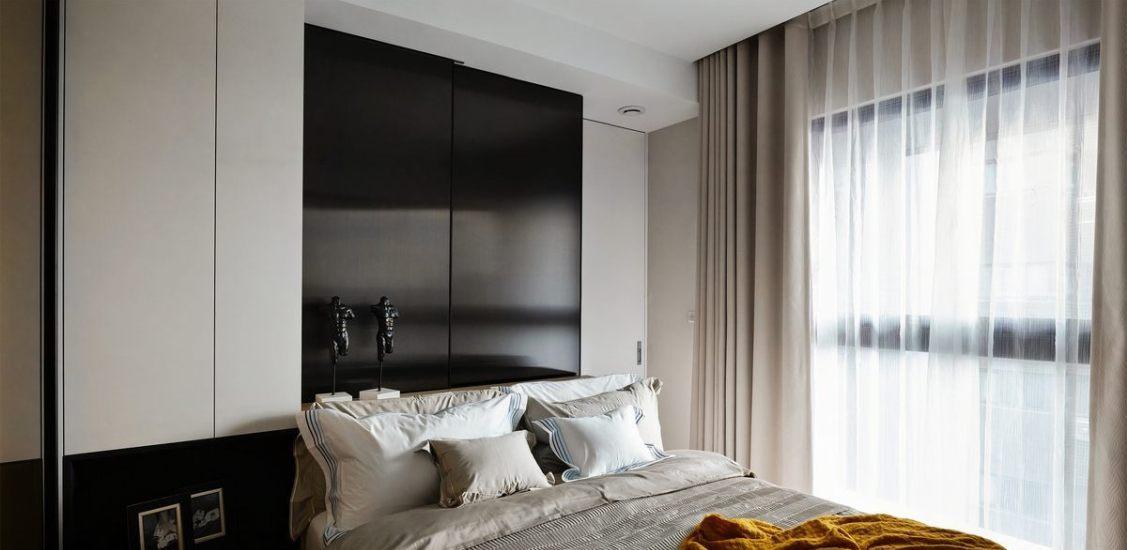 现代休闲主卧房装修案例