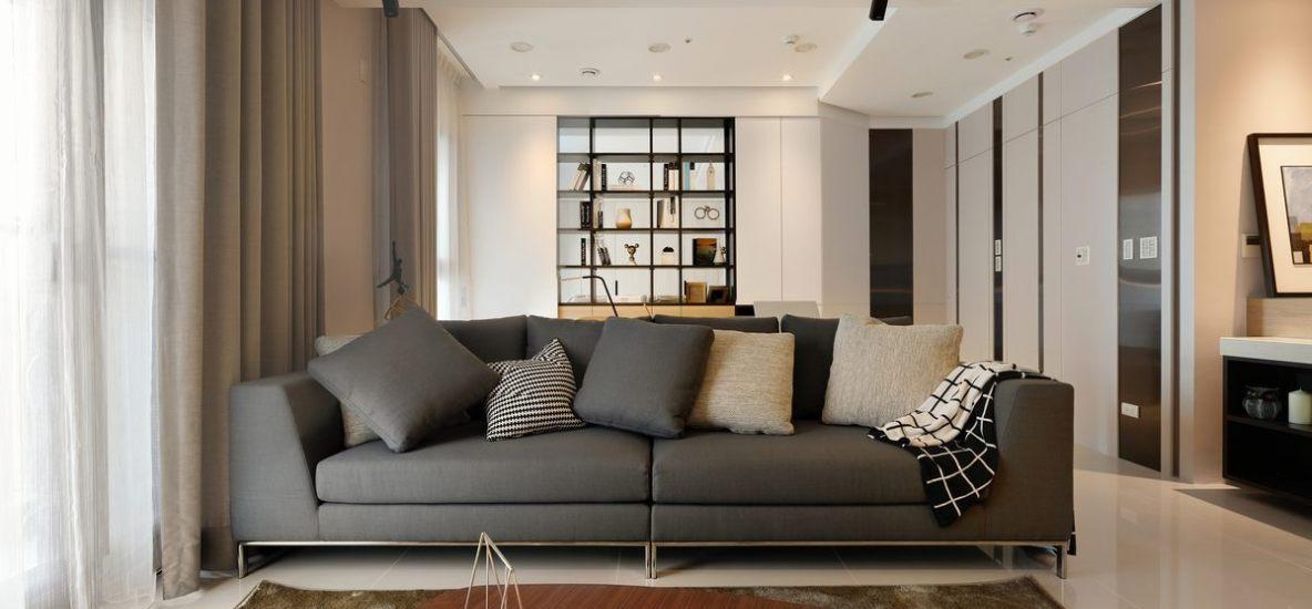 现代休闲沙发端景装修案例