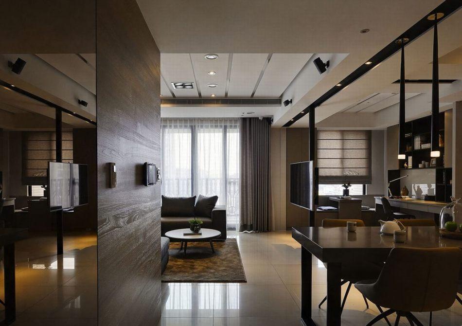 现代风格空间放大装修效果图