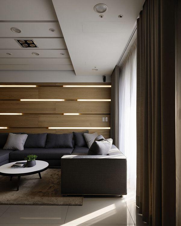 现代风格客厅沙发装修效果图