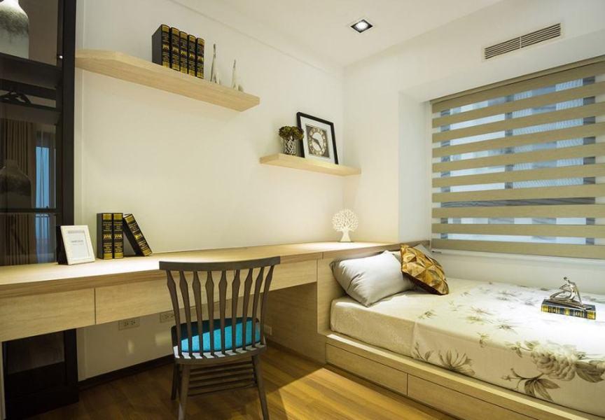 现代风格次卧室设计图片