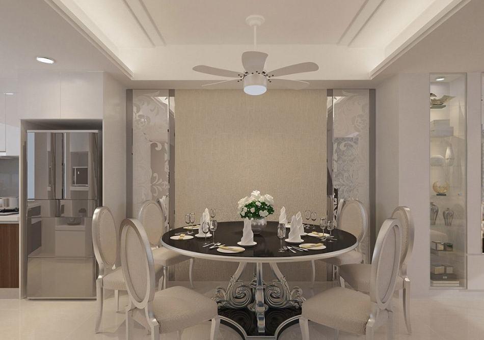 现代新古典餐厅设计图片