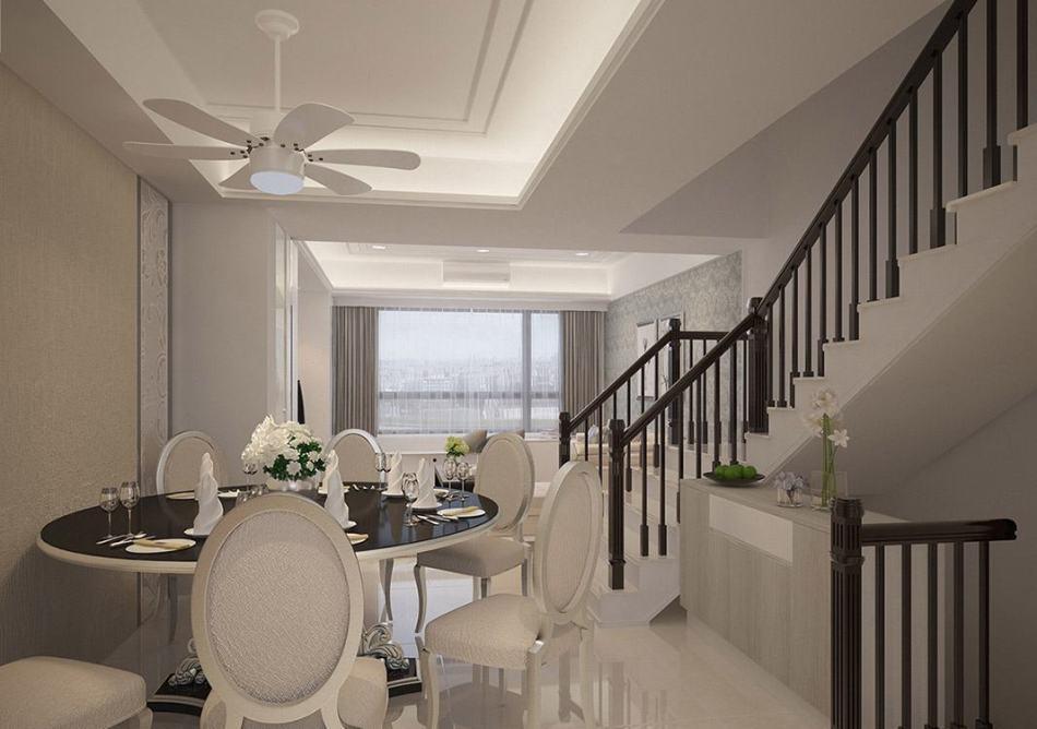 现代新古典楼梯设计图片