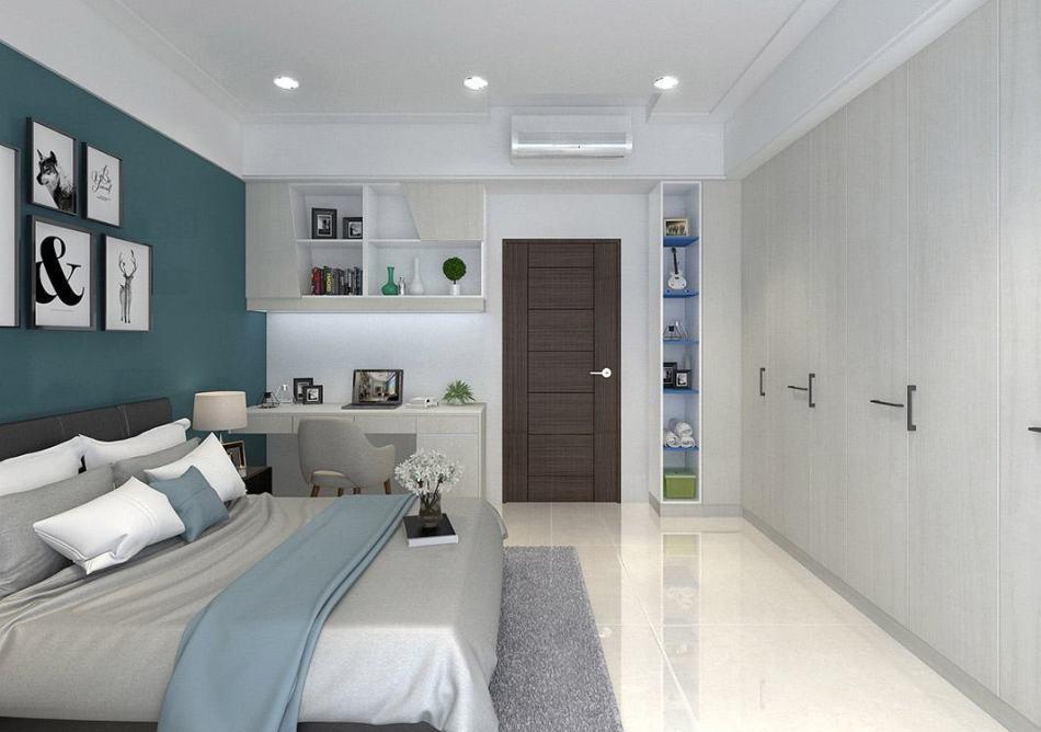 现代新古典男孩房设计图片