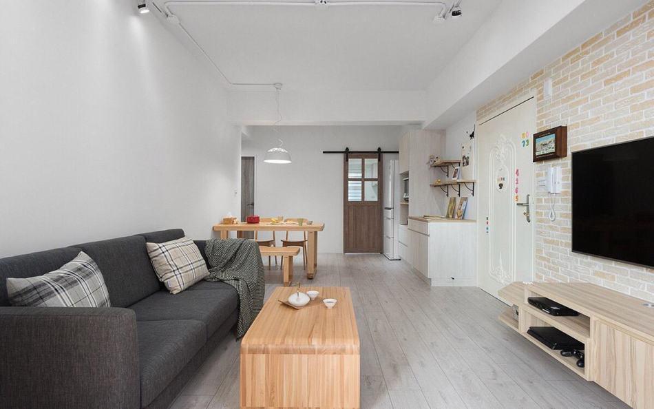 北欧风格家具配置装修案例