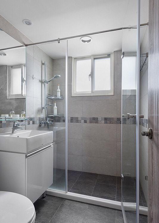 北欧风格卫浴空间装修案例