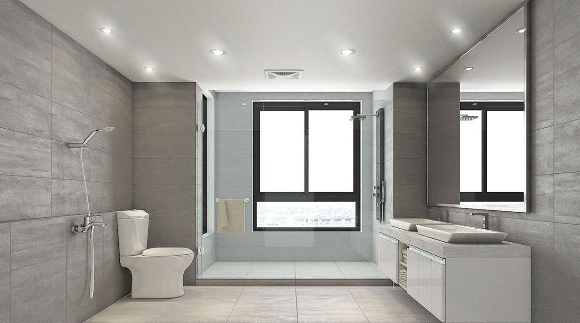 现代风格卫浴区装修效果图