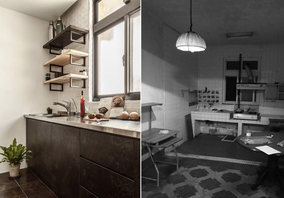 工业风格厨房装修效果图