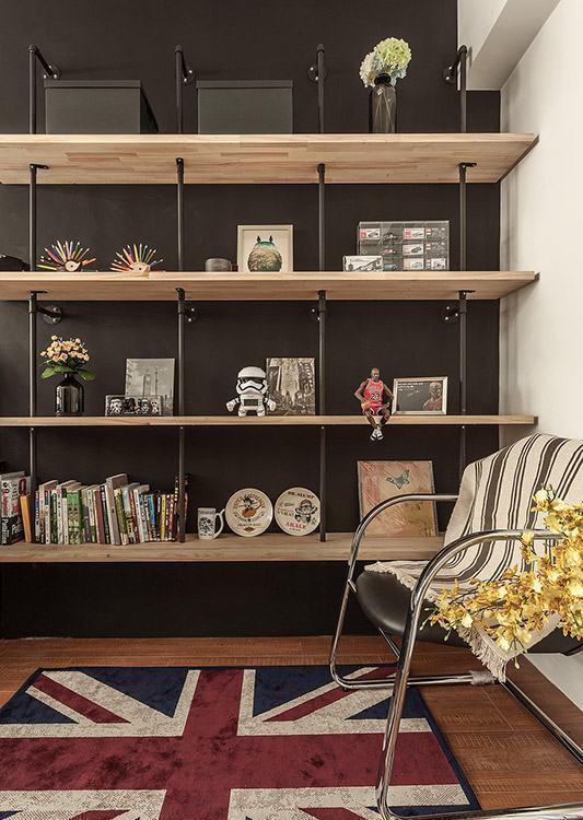 工业风格书房装修效果图