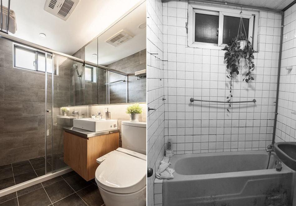 工业风格卫浴装修效果图