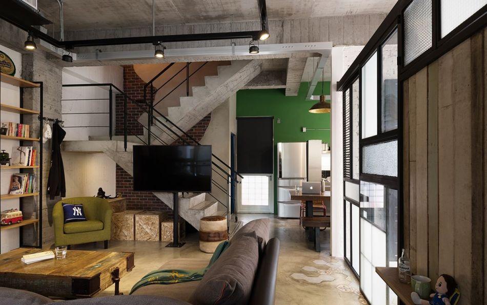 Loft风格装修案例