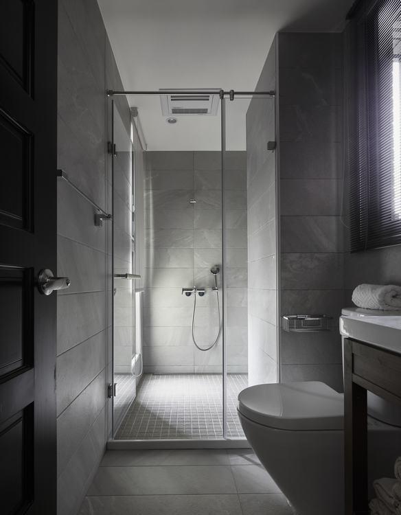 怀旧复古卫浴设计效果图