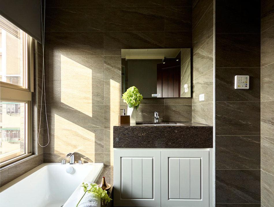 美式风格卫浴空间设计图片