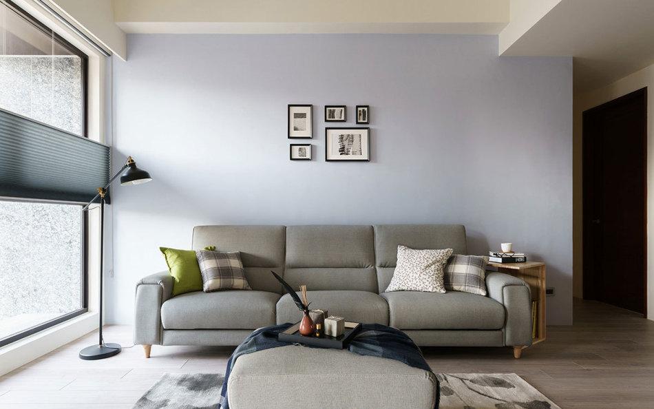 北欧风格沙发背墙设计效果图