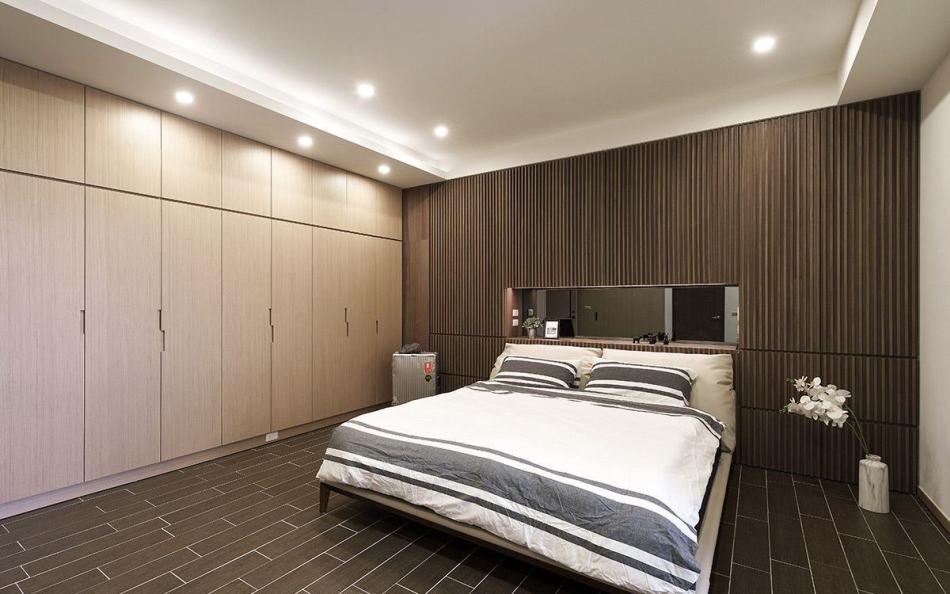 日式禅风卧室地坪图
