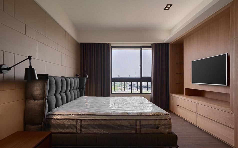 北欧风格床头主墙装修案例
