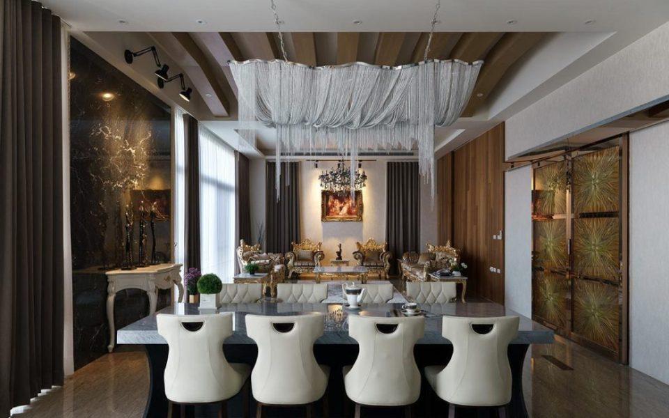 奢华风格餐厅效果图