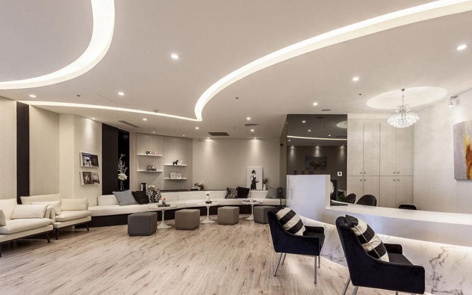 现代风格沙发区设计图片