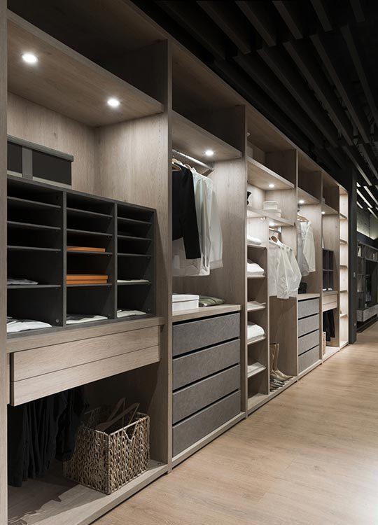 现代风格更衣室装修效果图