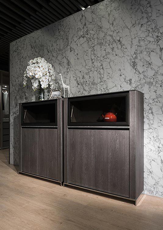 现代风格半柜装修效果图