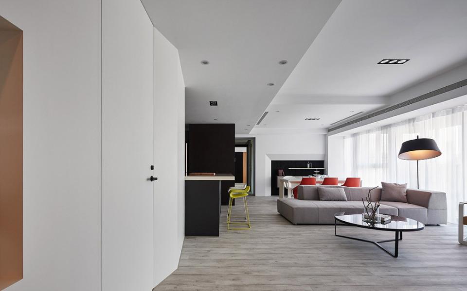 80平现代风格装修豪宅新建房设计