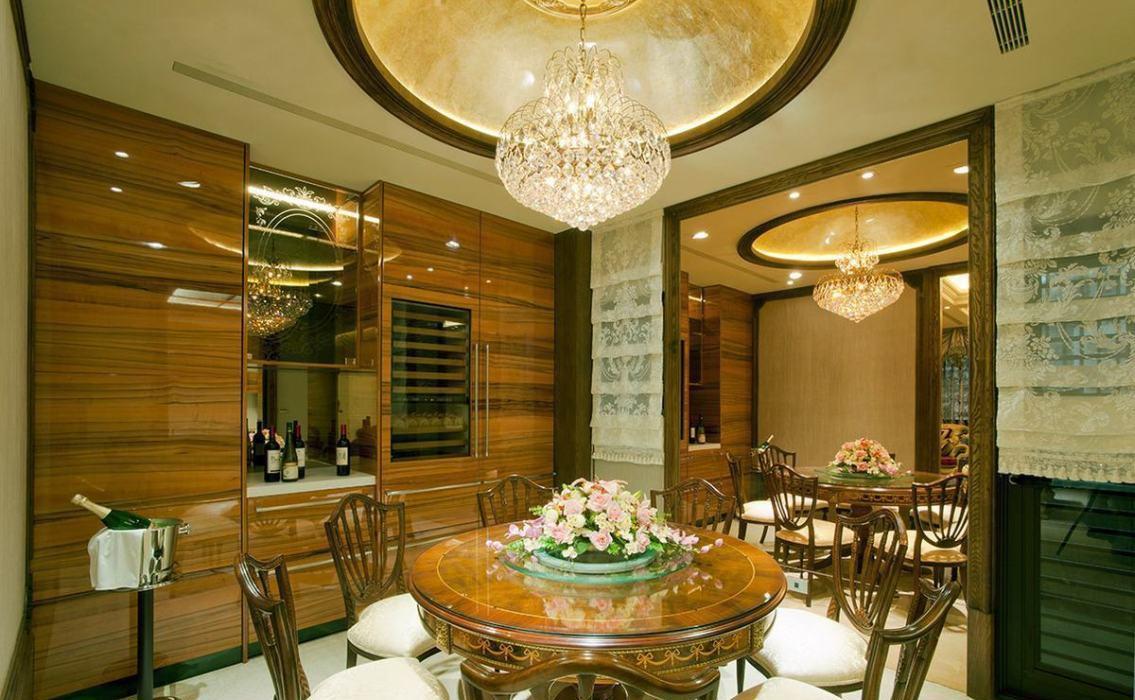低调古典奢华餐厅图