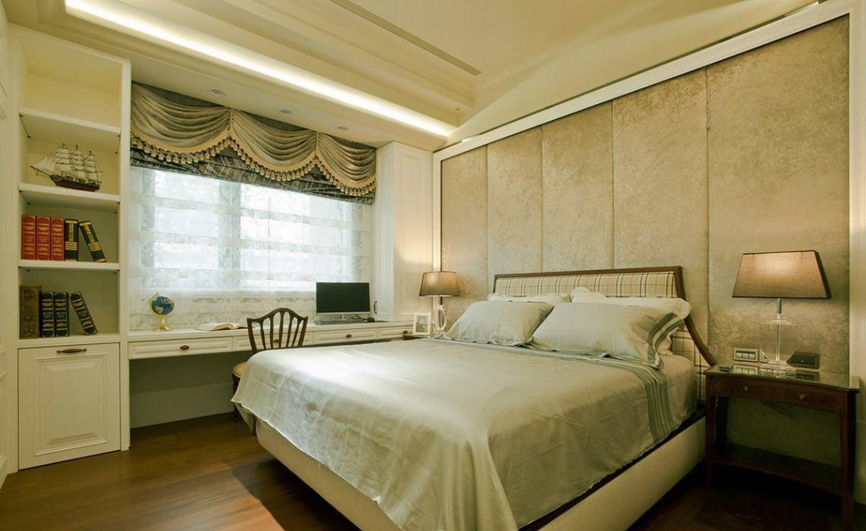 低调古典奢华次卧房图