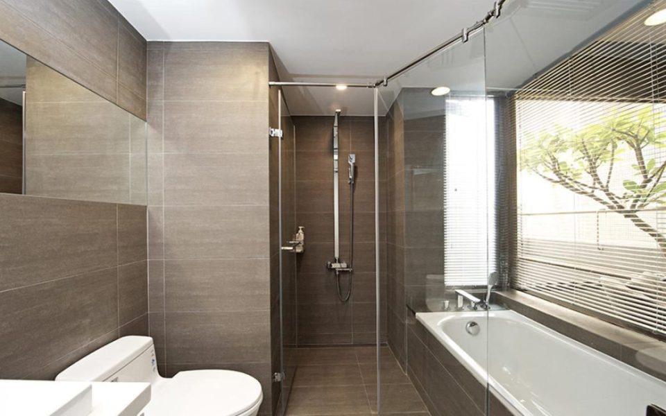 现代简约风卫浴空间装修效果图