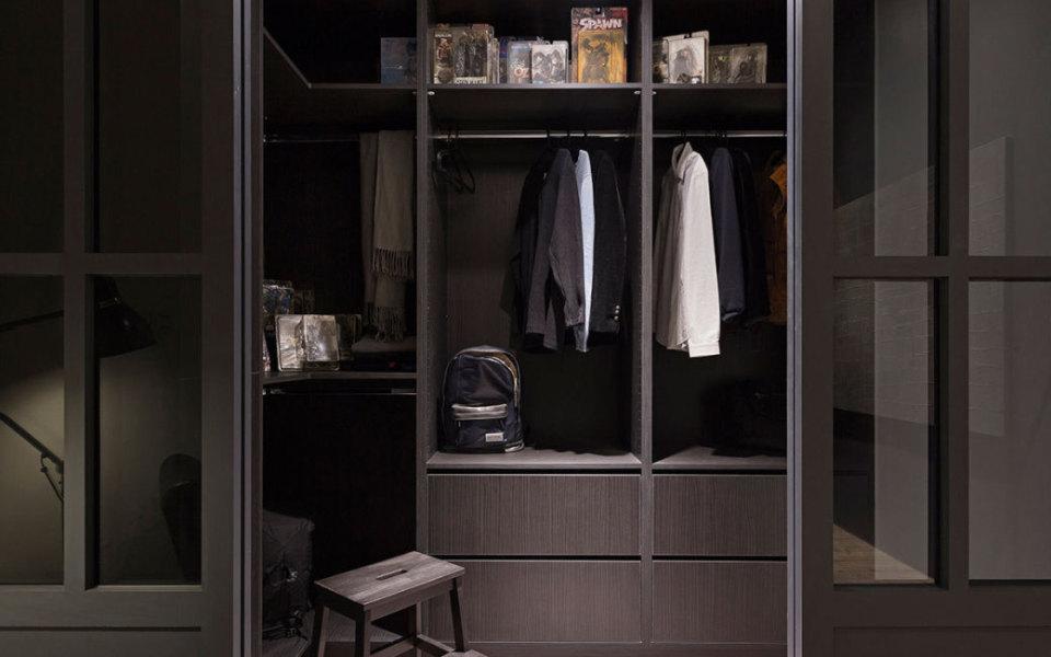 工业风格更衣室图片