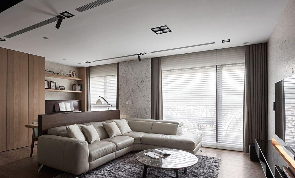 现代美式风格客厅设计图片