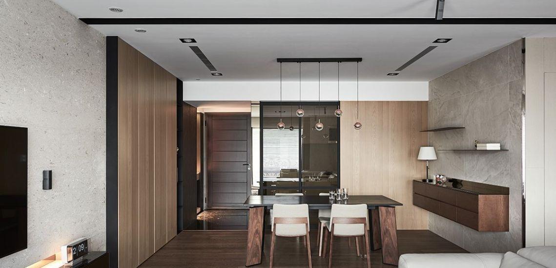 现代美式风格餐厅区设计图片