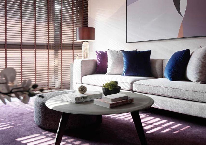 现代风格紫色迷情图片