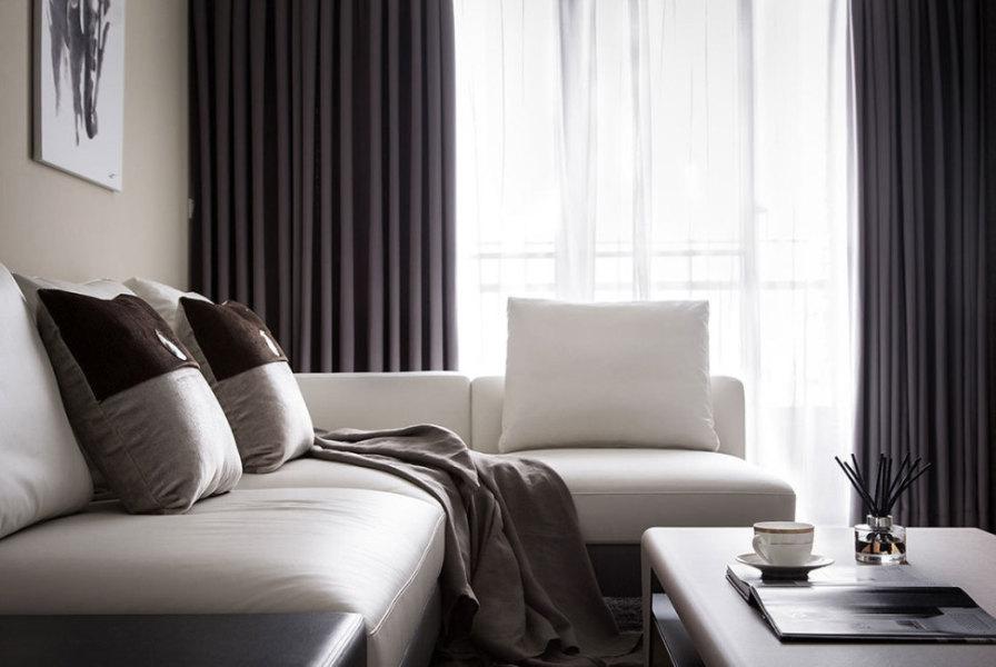 现代风格沙发区装修图片
