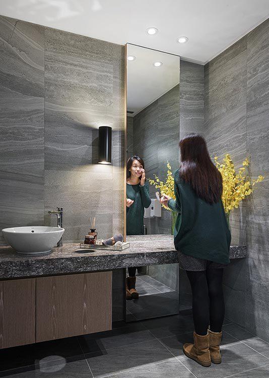 现代风格VIP盥洗室图