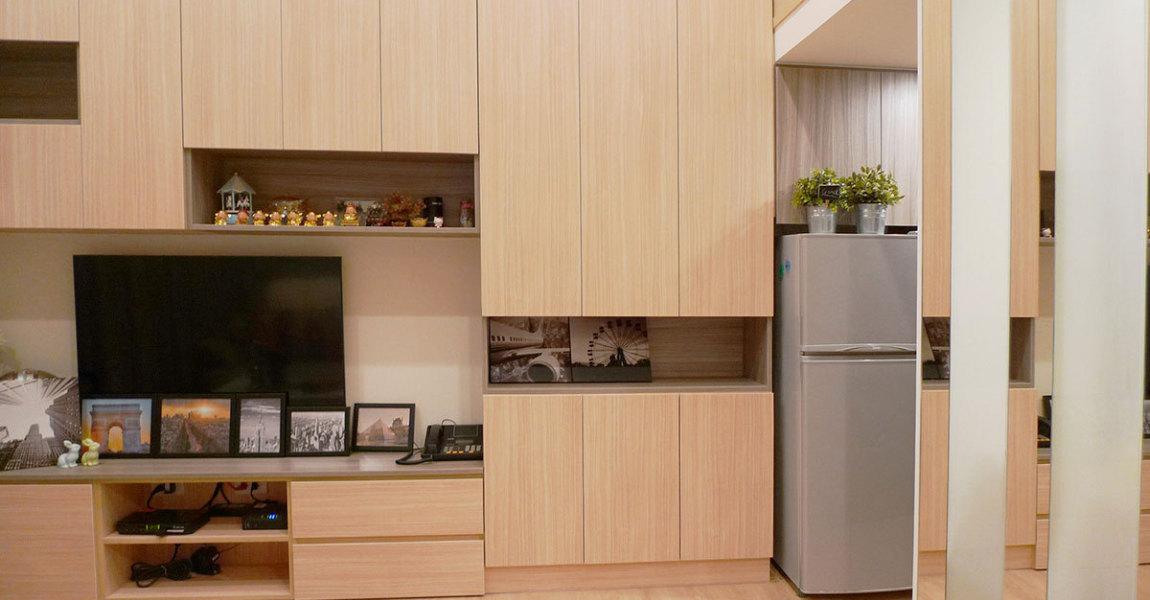 现代风格系统柜设计效果图
