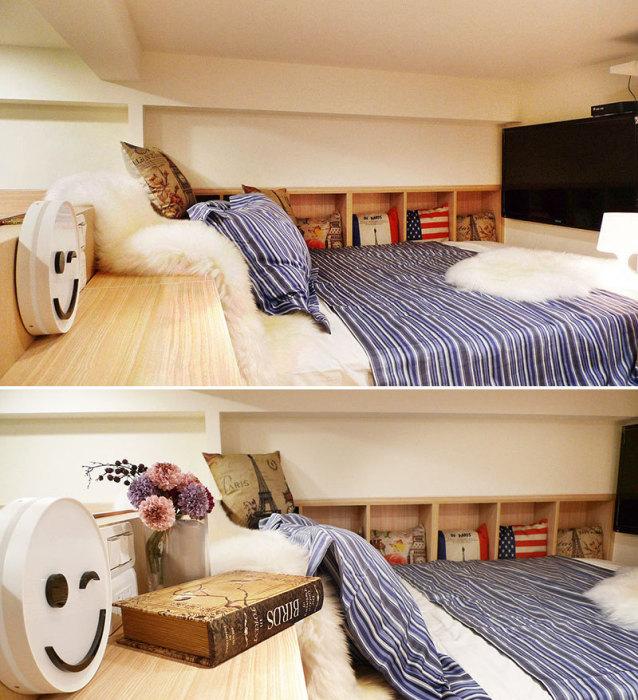 现代风格卧房设计效果图