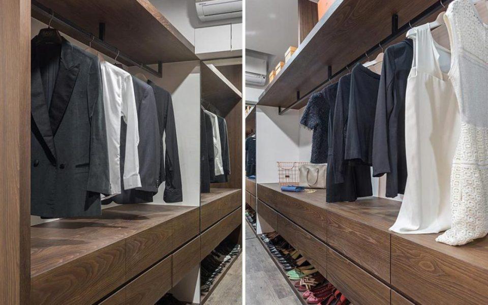 现代风格更衣室装修图片