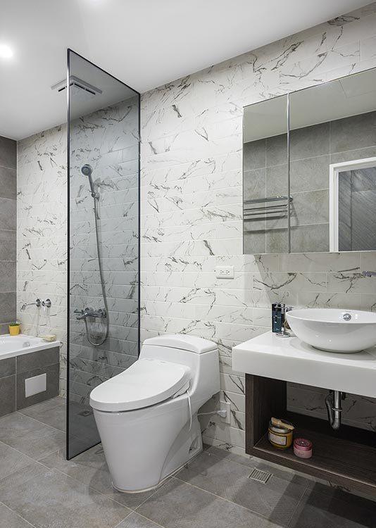 现代风格卫浴装修图片