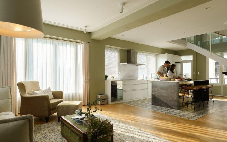混搭风厨房设计装修效果图