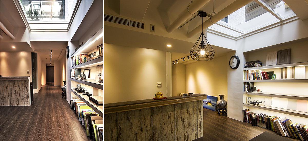 现代风格天井设计设计图片