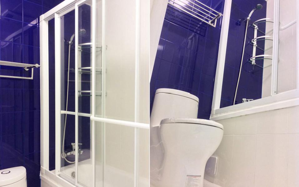 休闲多元浴厕空间装修效果图
