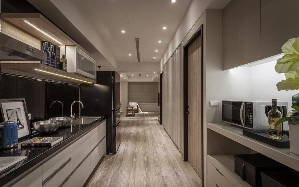 北欧风格厨房设计图片