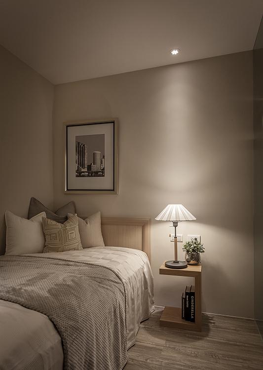 北欧风格卧房设计图片