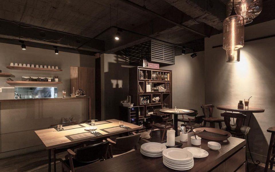 工业风格飨食空间设计效果图