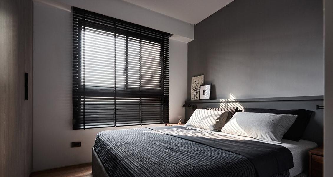 现代北欧风主卧室装修图片