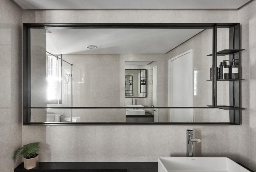 现代北欧风卫浴装修图片