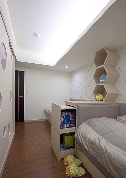 现代风格小孩房设计效果图